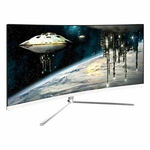 Viotek GN34C 34quot; Ultrawide Curved Gaming Monitor QHD 100Hz 1440p 21:9 FreeSync $299.99