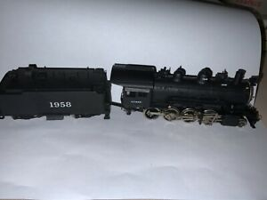 United HO Scale Brass Santa Fe Super Detail 2 8 0 Consolidation New in Org Box $145.00