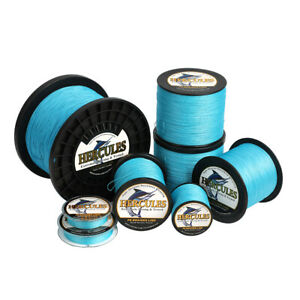 Hercules 1094 Yards 8 Strands Strong 10 300lb PE Extreme Braided Fishing Line
