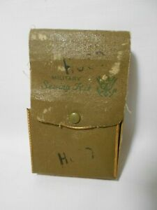 Antique Vintage Military Sewing Kit Army Marines Navy Unknown Age WW1 ? WW2 ? $14.99