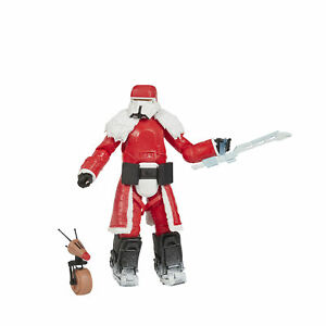 Star Wars The Black Series Range Trooper Holiday Edition and D O Toys $22.99