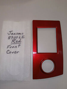 Front Plate for Janome 8900 Sewing Red $15.00