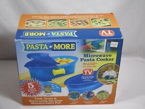 As Seen On TV Pasta n More 5 in 1 Nonstick Microwave Pasta Cooker
