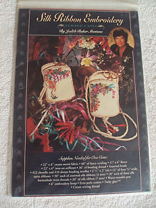 Silk Ribbon Embroidery Sewing Cases Pattern by Judith Baker Montano $2.99