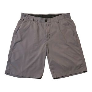 Under Armour Golf Shorts Gray Lightweight Breathable Men's Size 36 Four Pocket $24.90