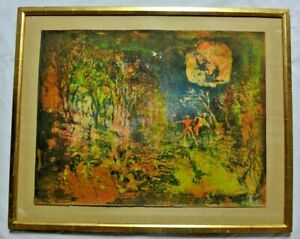 Extremely Rare Le Ba Dang Vintage Painting $299.99