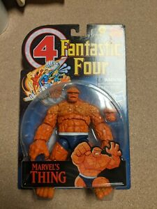 """Marvel Legends THE THING Retro Fantastic Four Vintage 6"""" Figure IN HAND NEW $34.99"""