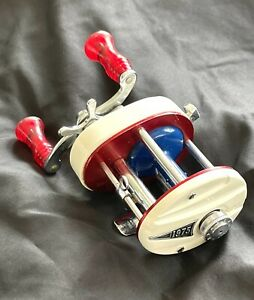 Vintage Shakespeare 1975 Bicentennial Casting Reel Model DH Made In USA