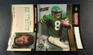 Browning Nagle New York Jets 1992 Action Pack UNFOLDED RARE ODDBALL WOW $5.99