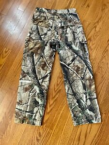 Game Winner Realtree Camo Cargo Hunting Pants Size Large 12 Boy#x27;s Youth