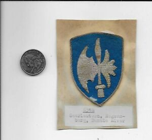 65th Infantry Division German Bullion Patch RM030 $184.99