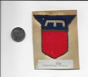 76th Infantry Division German Bullion Patch RM025 $184.99