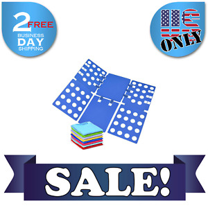 Adjustable T Shirt Clothes Fast Folder Folding Board Laundry For Adult Organizer $14.99