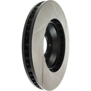 Disc Brake Rotor Sport Slotted Front Right Stoptech 126.33091SR $169.59