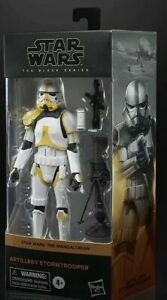 Star Wars The Black Series Artillery Stormtrooper AMAZON EXCLUSIVE Free Shipping $48.00
