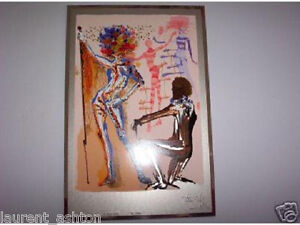DALI MAN'S PROFESSION THE FASHION DESIGNER SILVER PLATE