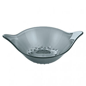 Koziol LEAF M Bowl ANTHRACITE Medium Sized. Use For Fruits Creamy Desserts