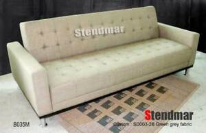 NEW MODERN DESIGNER FABRIC SLEEPER SOFA BED B35M3