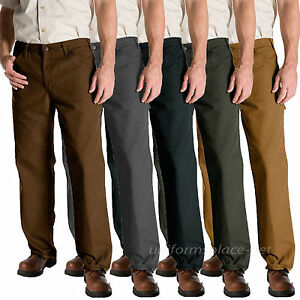 Dickies Work Jeans Mens Relaxed Fit Carpenter Duck Jean 1939 Cotton Pants $34.99