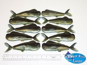 Almost Alive Lures Soft Bait Mahi Trolling Lure (10) 8