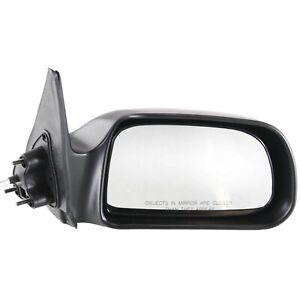 Mirror Manual Remote Passenger Side RH Right for 00 04 Tacoma Pickup Truck $26.00