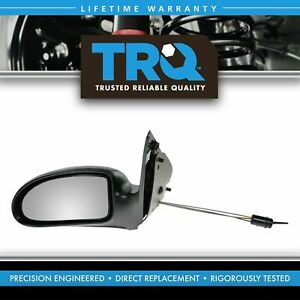 Manual Remote Door Mirror Left Driver Side LH for 03-07 Ford Focus