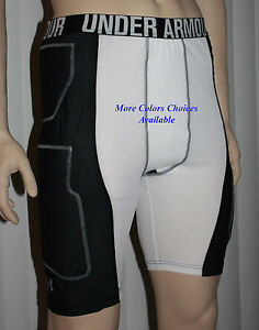 Under Armour Men's UA BASKETBALL Padded Compression Shorts NWT several choices *