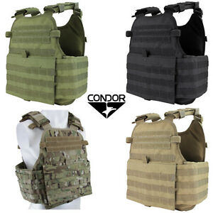 Condor MOLLE Operator Plate Carrier Vest Body Chest Assault Rig MOPC