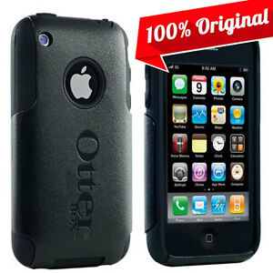 NEW Otterbox Commuter Case Dual Layer Black Hard Cover Skin for iPhone 3GS3G