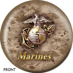 United States Marines Iwo Jima Bowling Ball