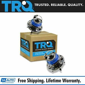 TRQ Front Wheel Hub Bearing Pair for Chevy Buick Cadillac Pontiac Olds FWD ABS $99.95
