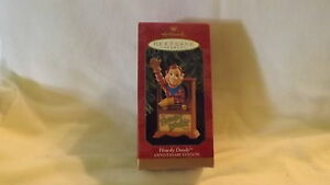 Hallmark TV Set Ornament 1997 Howdy Doody Anniversary Edition