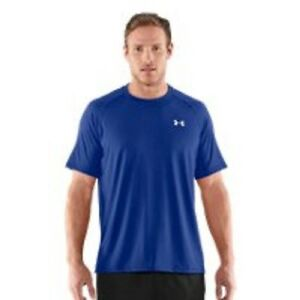 Men's Under Armour Tech Short Sleeve T-Shirt  RedWhite NWT Close Out Sale