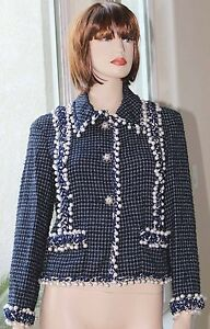 13K NWOT MOST WANTED CHANEL VIP LIMITED EDITION PEARLS JACKET SUIT CC LOGO 38