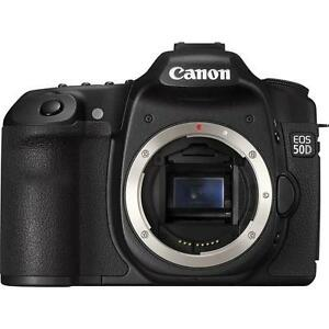 Canon EOS 50D 15.1 MP Digital SLR Camera - Black (Body Only) 2807B006