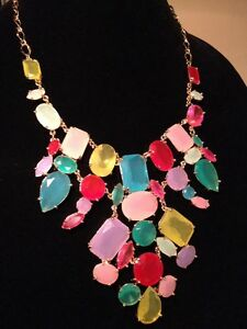 Stunning KATE SPADE 'Gumdrop Gems' Bib Statement Necklace *NEW*