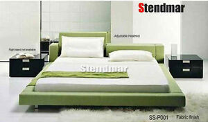NEW MODERN EURO DESIGN PLATFORM BED SS-P001