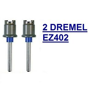 2 NEW DREMEL EZ LOCK MANDREL EZ402 USE WITH ALL DREMEL EZLOCK ACCESSORIES SC402 $11.20