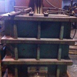 MPH GAS MELTING FURNACE FOR MELTING ZINC WHITE METAL LEAD 40000 LBS. CAP.