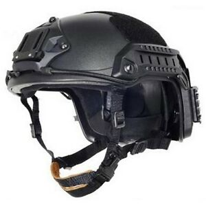 Lancer Tactical CA-805B Airsoft Maritime ABS Helmet wSide Rails