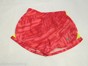 Nike Dri Fit youth girls active 6X Running shorts 362061-A96 Hyper Pink NWT*^