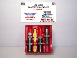 90500 * LEE PACESETTER 3-DIE SET * 22 HORNET