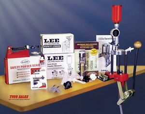 90304 * LEE CLASSIC 4-HOLE TURRET PRESS DELUXE KIT