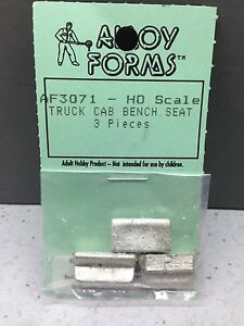 ho 1 87 alloy forms 3071 truck cab bench