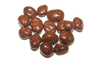 SUGAR FREE MILK CHOCOLATE RAISINS, 1LB