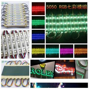 96FT- 624FT 7512 5050 SMD 3LED Module STORE FRONT Window Sign BAR Light Lamp USA