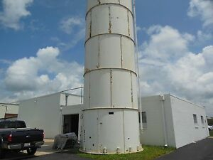 Bulk Plastic Resin Silo Storage 12'4