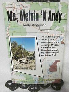 Me Melvin #x27;N Andy by Anderson Andy Signed $35.00