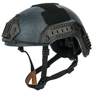 Lancer Tactical Maritime Airsoft Protective Padded Helmet ABS Custom Typhon ML