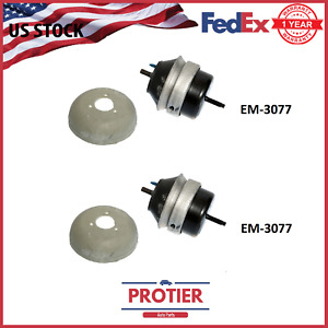 Front LEFT RIGHT Motor Mount Set 00 08 Ford Thunderbird Jaguar S Type Lincoln LS $29.99